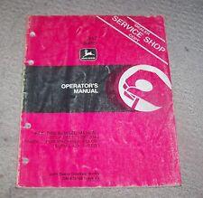 John Deere 347 Baler Operators Manual  Used  B3