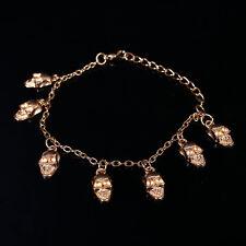 Punk style skull  anklet / bracelet