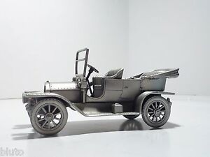 "1909 CADILLAC ""30"" TOURER the DANBURY MINT Metal PEWTER Toy Model Car"