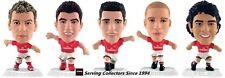 2010 MICRO WORLD SOCCER STARS FIGURINE ARSENAL TEAM SET (5)-WHITE BASE