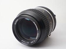Excellent+++++ Nikon Nikkor Ai 105mm f/2.5 MF Lens Portrait Telephoto from Japan