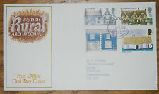 February 1970;First Day Cover; British Rural Architecture; excellent condition