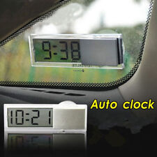 Digital LCD Table Auto Car Dashboard Desk Time Calendar Small Clock Portable New