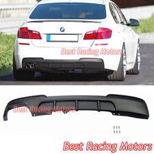 Performance Style Rear Bumper Diffuser Fits 11-17 BMW F10 F11 5-Series 528i 530i
