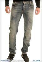 Jeans Uomo Ragazzo Pantaloni ABSOLUT JOY A067 Blu Gamba Dritta Tg 29 veste ++