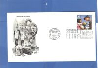 FIRST DAY ISSUE CLEVELAND ELEANOR ROOSEVELT STAMP CELEBRATE THE CENTURY FDC