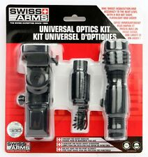 Swiss Arms Universal Tactical Optics Kit Red Dot Sight Laser & Flashlight 263915
