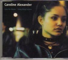 (AX552) Caroline Alexander, Fake The Blame - 2000 CD