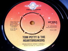 """TOM PETTY & THE HEARTBREAKERS - I NEED TO KNOW  7"""" VINYL"""