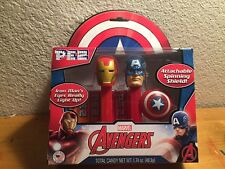 2016 Pez Marvel Avengers Captain America Iron Man Twin Pack NIB