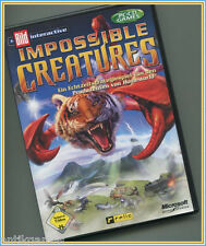 Impossible Creatures Microsoft primera edición con manual (PC, 2003)