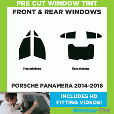 Pre Cut Window Tint - Porsche Panamera 2014-2016 - Full Kit