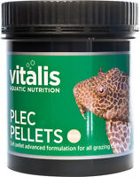 New Era Vitalis Plec Pellets Aquarium Fish Food 8mm in 120g or 300g