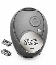 Fits Land Rover Discovery 2 2 Button Remote key FOB shell case Refurbish fix kit