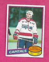 1980-81 OPC # 195 CAPITALS MIKE GARTNER ROOKIE EX-MT CARD (INV# D0516)