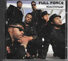 FULL FORCE - Smoove CD Album 12TR Hip Hop RnB & Swing 1989 (CBS)