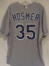 Eric Hosmer 2015 (W.S. Championship Season) Royals Game Used Road Jersey - MLB