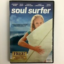 Soul Surfer (DVD, 2011) English Region 1 Widescreen Rated PG Surfing NOS SEALED