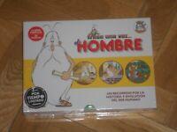 """CAJA CON 5 DVD,s DE """"ERASE UNA VEZ EL HOMBRE"""". NUEVA Y PRECINTADA-(4)."""