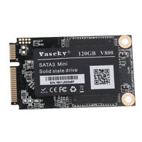 V800 MSATA Solid State Drive 1.8'' SATA 3 SSD Hard Drive MLC Particle 120GB
