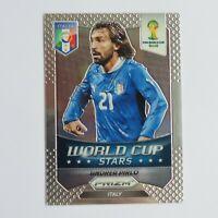 Andrea Pirlo Panini Prizm 2014 Brazil World Cup Stars #24 Italy Football Card