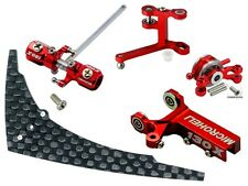 Microheli CNC Blade 130 X Tail Power package (RED) - BLADE 130X