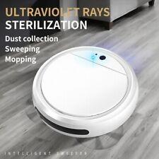 Robot Vacuum Cleaner Smart Rechargeable Uv sterilization Dry/Wet Floor Sweeper