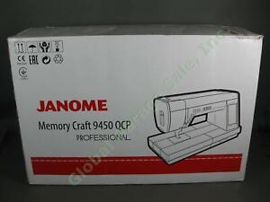 Janome Horizon Memory Craft MC9450 9450 QCP Sewing Quilting Professional Machine