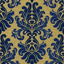 Vliestapete Barock gold blau Tapete Rasch En Suite 546125 (3,44€/1qm)
