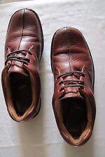 Born Boc Brown Leather Split Toe Lace Up Oxford Casual Shoes Mens Size 8 1/2  M