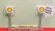 Model Power N Scale LITED SHELL GAS STATION SIGNS MPC 8580