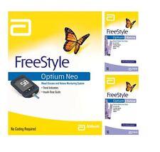 Abbott Freestyle Optium Neo Monitor & 2x Optium Blood ß-Ketone Strips 10s Bundle