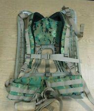 New Digital Woodland Camo Molle II Frame , Belt and Shoulder Straps Combo