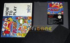 TAITO PUZZNIC Nintendo Nes Versione Italiana PAL A ••••• CARTUCCIA E MANUALE