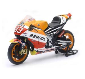 New Ray 1:12 Die-Cast Replica Toy 2015 Honda Repsol Marc Marquez 57753