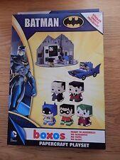 dc comics batman boxos paper play