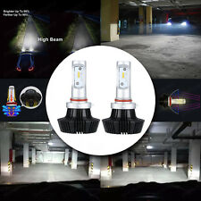 2pcs Philips LED Headlight Bulb Conversion Kit H7 Plug Bulb White 6000K