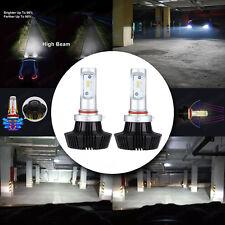 2pcs Philips LED Headlight Bulb Conversion Kit H7 Plug Bulb White 6000K