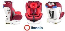 Car seat Lionelo Bastiaan Red ISOFIX 360° 0-36 kg +2x Sun cover+Organizer