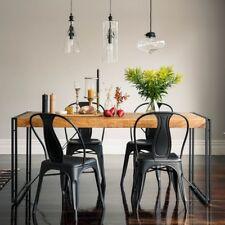 Esstisch Tisch 160x90 Massiv Holz Mango Metall Design Industrie Loft Retro Neu