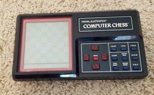Rare Vintage 1980 Mattel Electronics Computer Handheld Electronic Chess Game