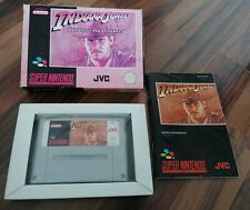 Indiana Jones Greatest Adventures in OVP mit Anleitung für Super Nintendo SNES
