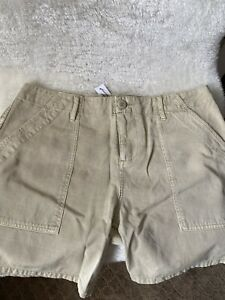 Sanctuary Women's Shorts Size 29 Beige Zip-Fly