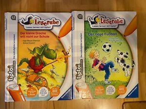 tiptoi® -Leserabe-Der kleine Drache will nicht zur Schule /Der neue Fussball