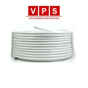 WRAS APPROVED Wet Underfloor Heating Pipe 16mm x 2mm PEX-AL-PEX 80m, 100m, 200m