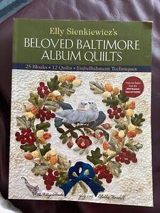 Beloved Baltimore Album Quilts quilting book Sienkiewicz patterns
