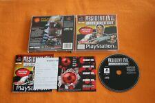 Resident Evil Director's Cut inkl Sticker USK 18 Playstation 1 PS 1