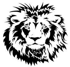 Lion Wall Art Vinyl Decal / Sticker