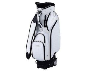 Honma 2020 Women's Wheeled Caddie Bag CB12018 9In 7way 9.5 lbs Ems / White