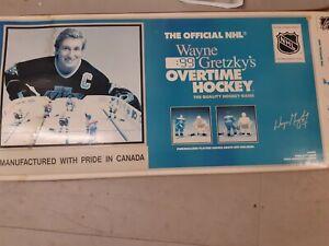 Wayne Gretsky table top overtime hockey game